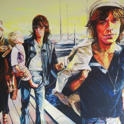 TOBLERONE (Pallenberg, Richards, Richards & Jagger) 160 x 120cm