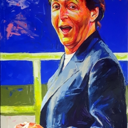 Sir Paul 100 x 150cm